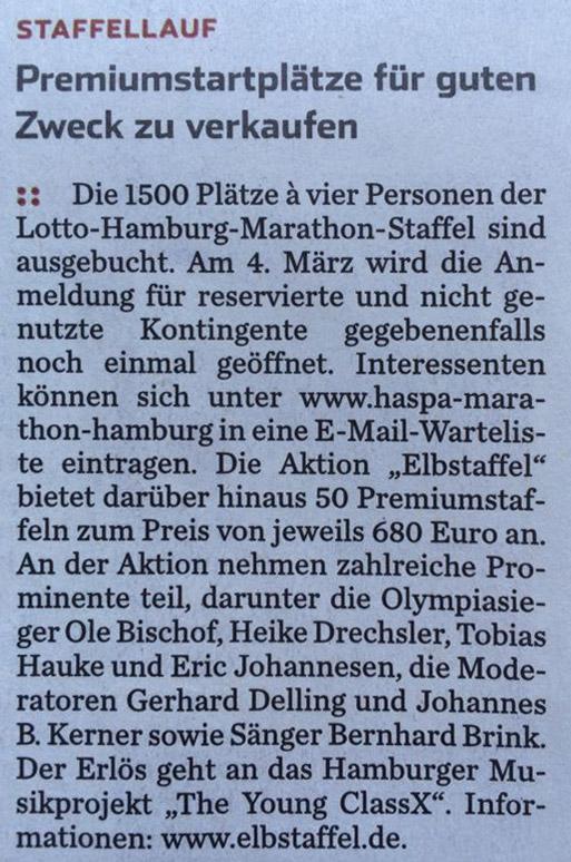 Hamburger Abendblatt, Ausgabe vom 12.02.2014