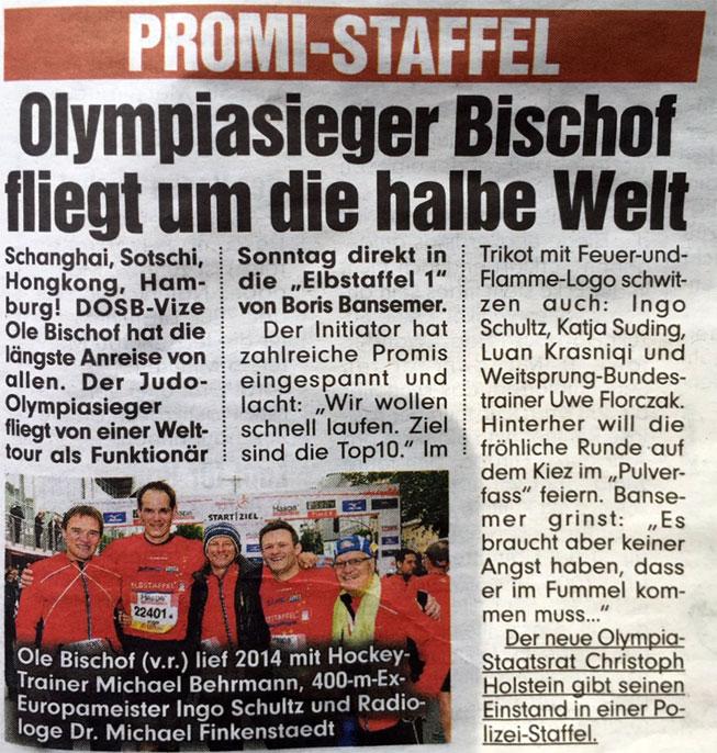 Bild-Hamburg Ausgabe vom 24.04.2015