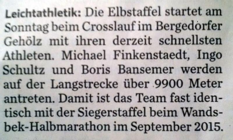 2016 01 08 Hamburger Abendblatt