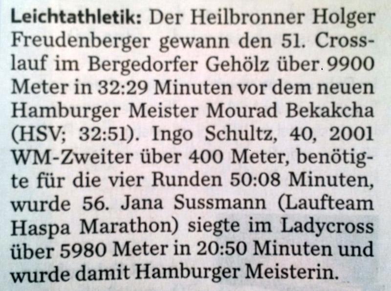 Hamburger Abendblatt 11.01.2016